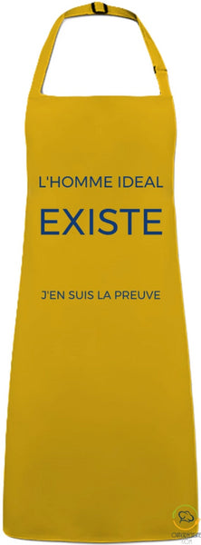 Pocket Free Apron - The Ideal Man Mustard / You Man> Workwear