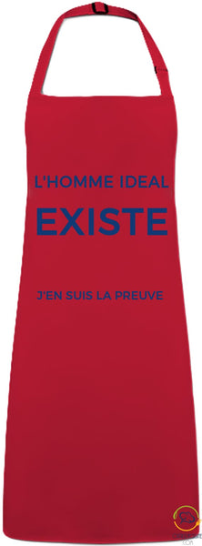 Sleeveless Apron - The Ideal Man Red / You Man> Workwear