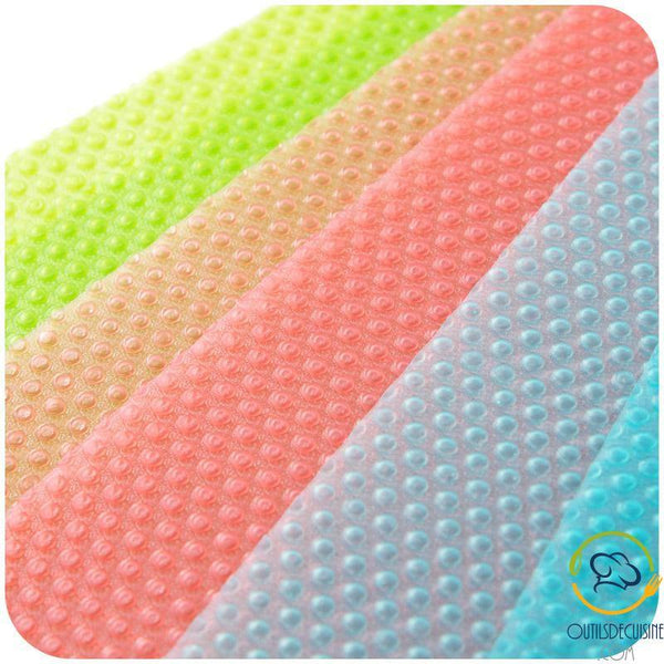 Home Kitchen Fridge Mats Anti-Soiling / Bacterial / Mold / Moisture Fruits And Vegetables