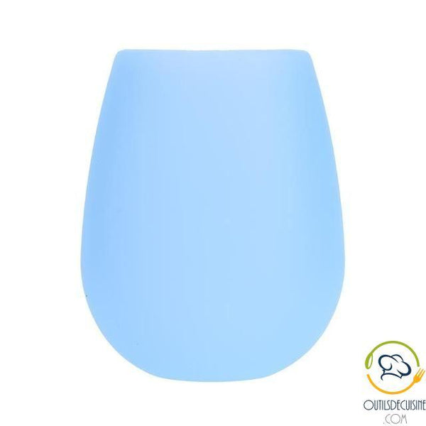 Unbreakable Silicone Footless Wine Cup