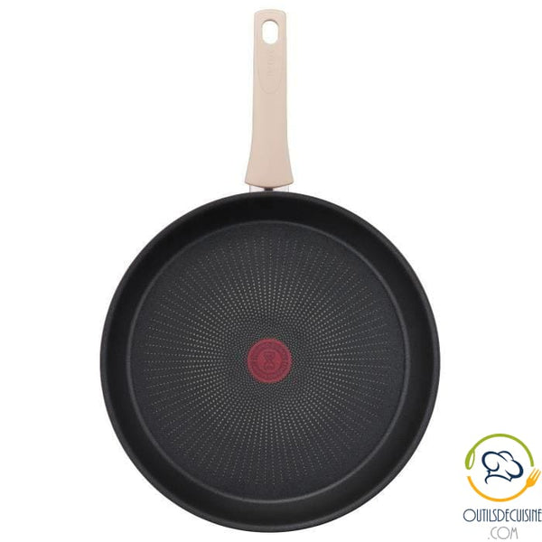 Tefal G2540702 Frying Pan 30 Cm Eco-Respect - Non-stick All Fires Including Induction Table Art
