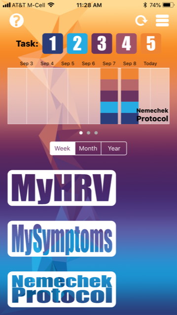 MyHRV Brain Monitoring and Nemechek Protocol App