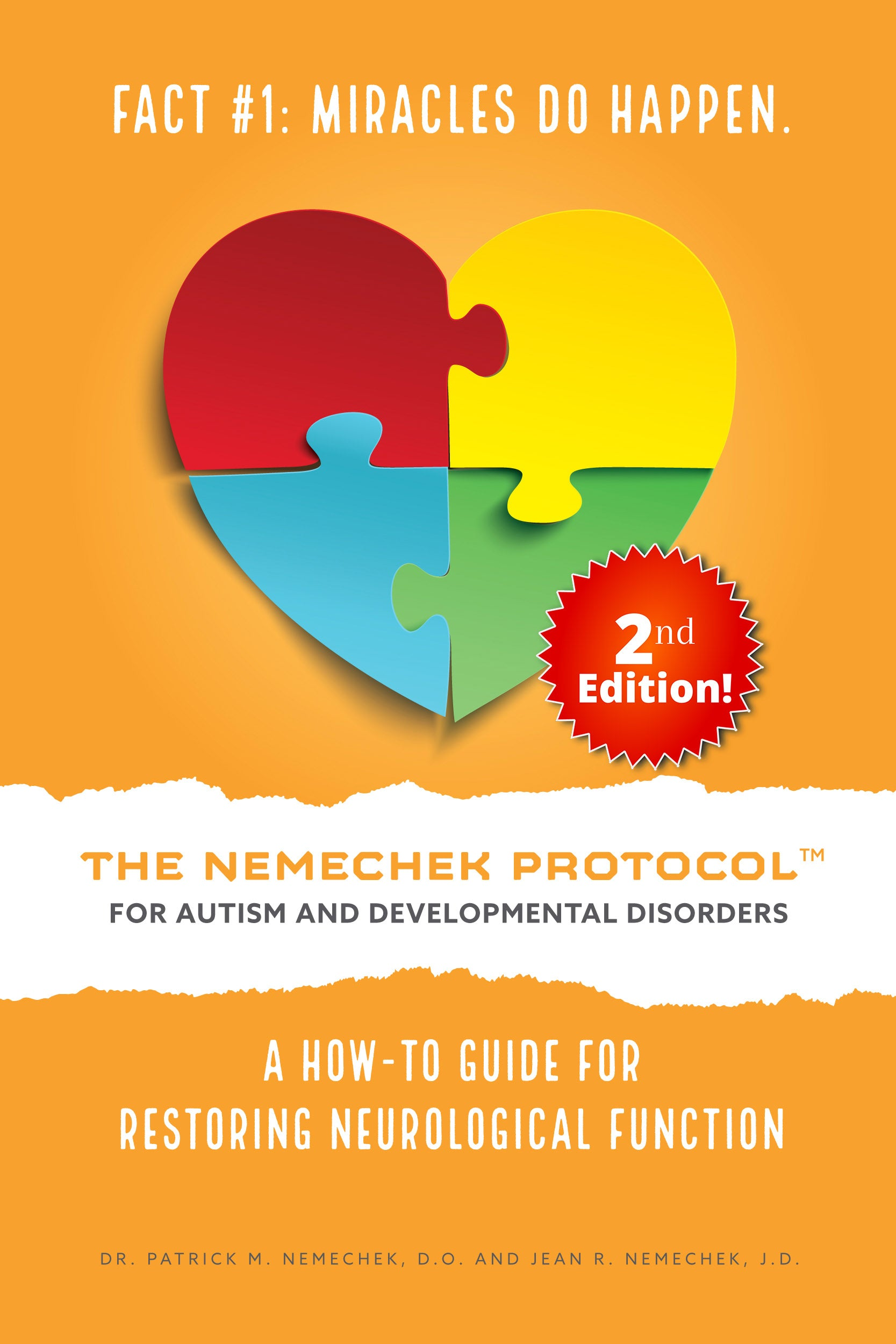 Pre-Order Bulk (50 Copies) Purchase - 2nd Edition, The Nemechek Protocol for Autism and Developmental Disorders
