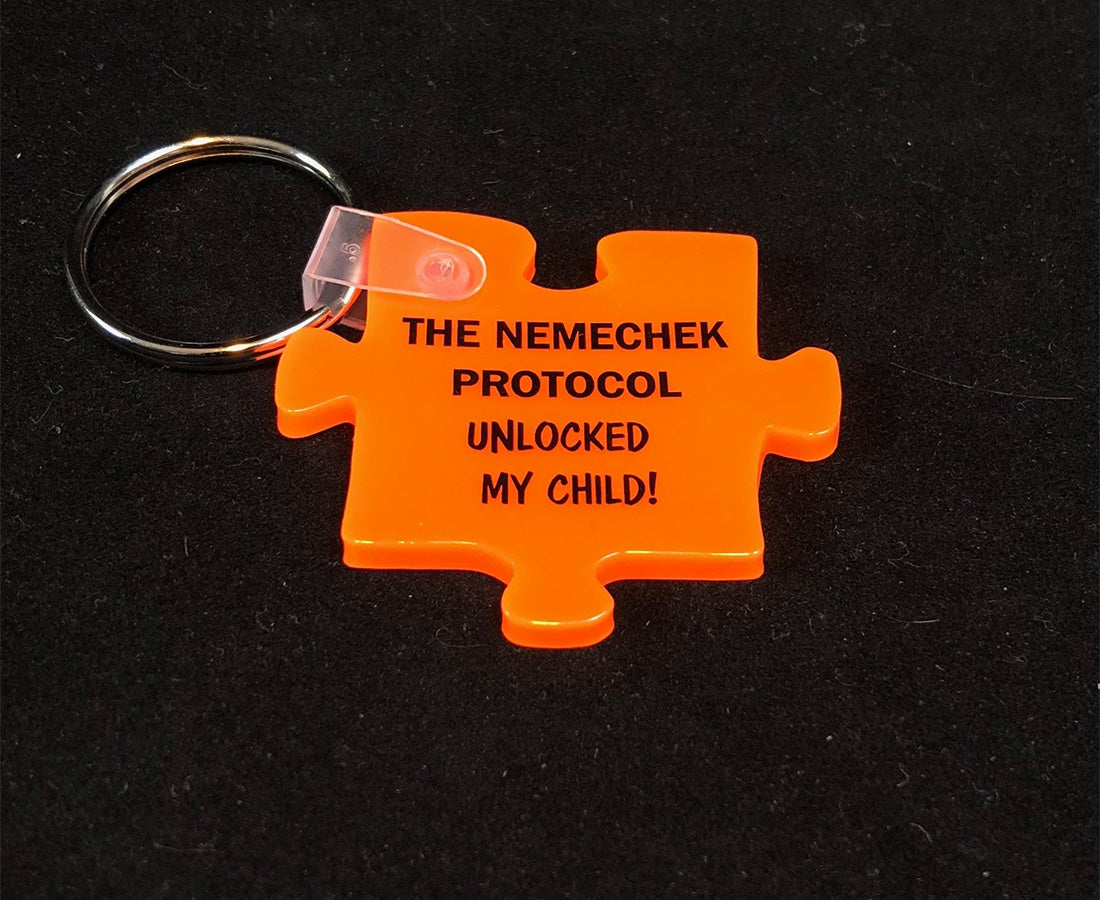 """Unlocked My Child"" Keychain"