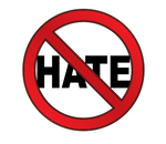 NO HATE STICKERS