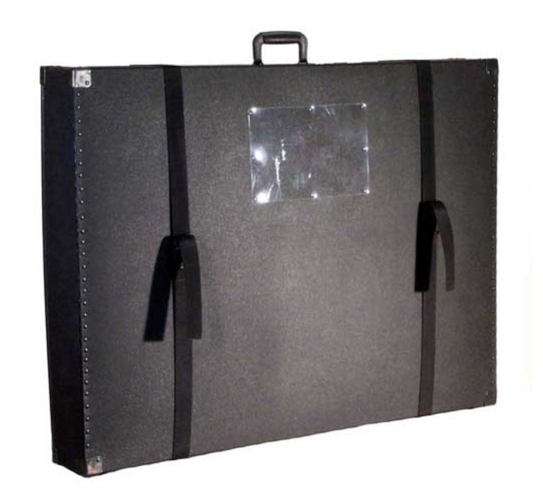 "275 Omni Telescoping Hard Trade Show Case 41"" x 31"" x 6"""