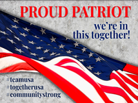 Patriotic, Community, COVID-19 Signs - Buy One/Get One 40% Off (Use Drop-Down to Select Sign)