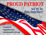 Patriotic, Community, COVID-19 Signs - Buy One/Get One 40% Off