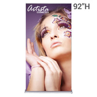 silverstep retractable banner stand 48""