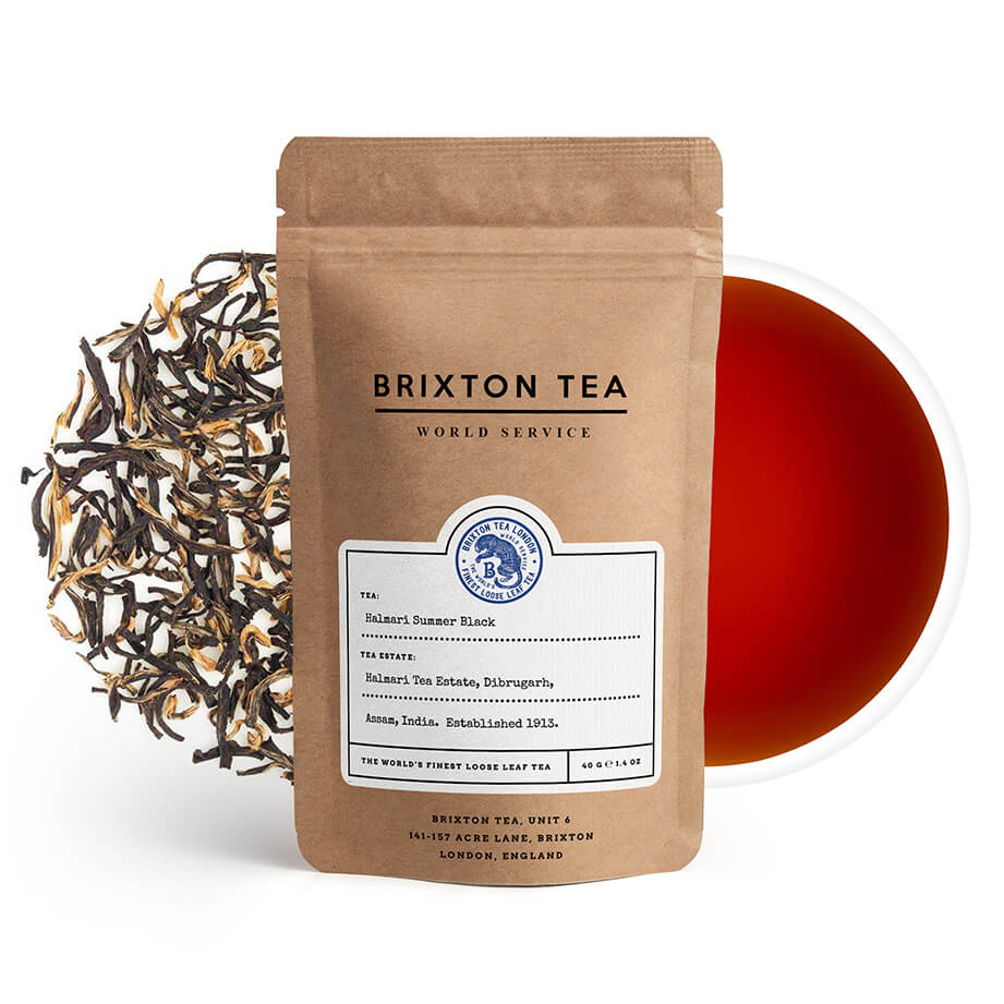 Brixton Tea ®, Halmari, Single Estate, Summer Black Tea 80g