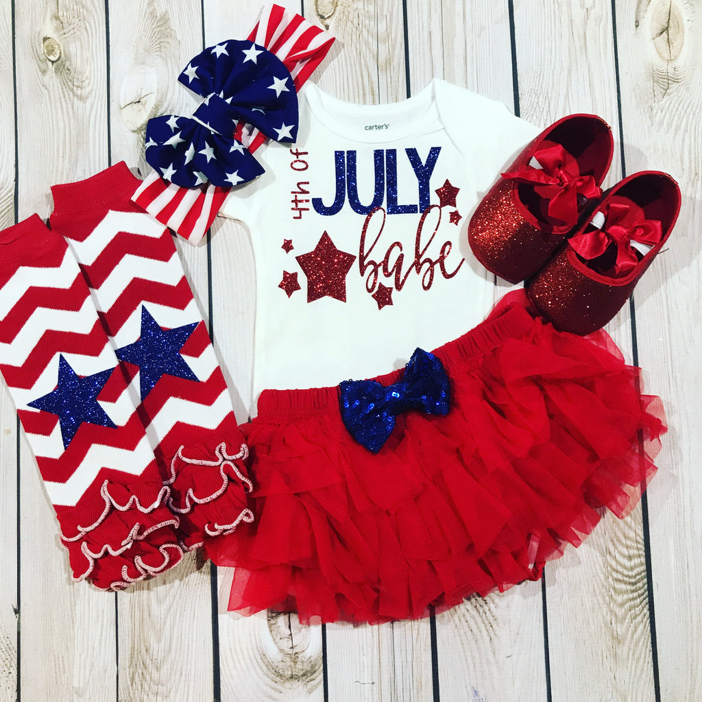 Fourth Of July Outfit Girl Baby Girl 4th Of July Outfit Red