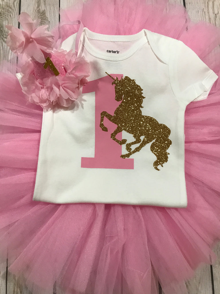 91b752fe7 ... First birthday unicorn outfit girl, unicorn shirt, 1st birthday unicorn  outfit girl, baby ...