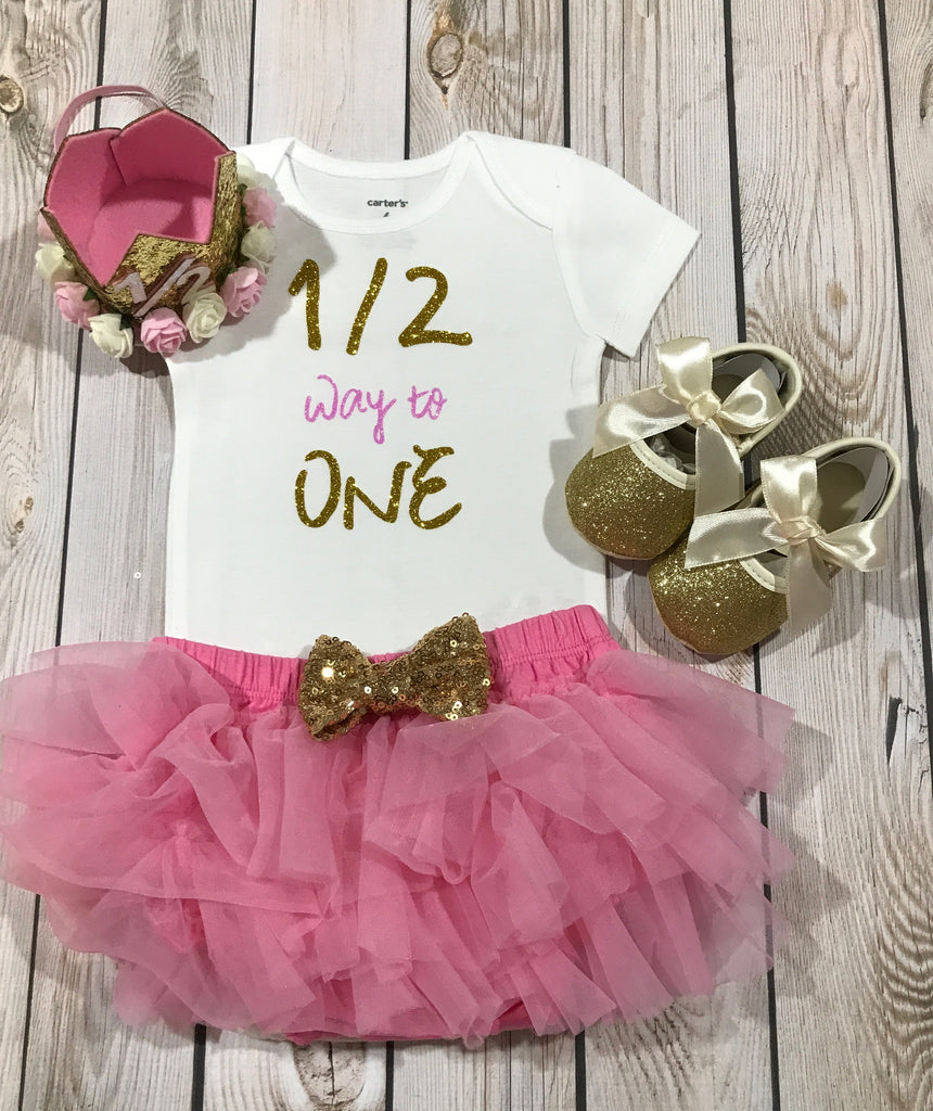 Baby Girl Six Month Clothes Birthday Girls Clothing