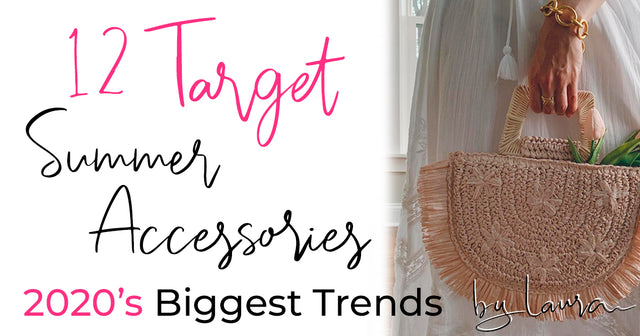 12 Budget Friendly *Target.com* Summer Accessories For Your Next Beach Vacation!