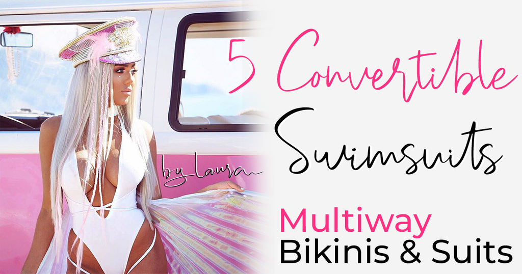 5 Amazing Multiway Convertible Swimsuits | One Suit Multiple Styles Instantly!