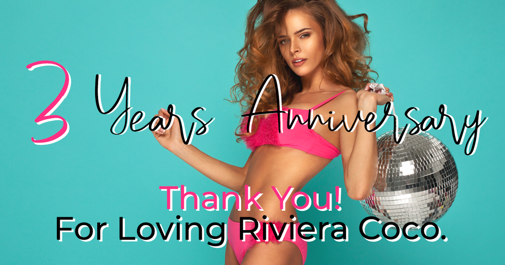 Riviera Coco third anniversary celebration