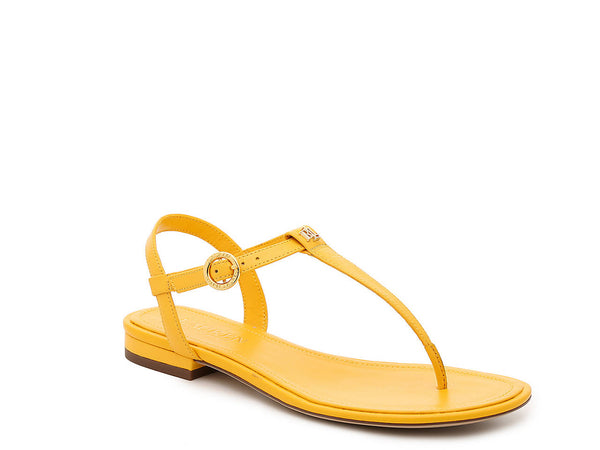 Yellow OLIVEA SANDAL from Ralph Lauren