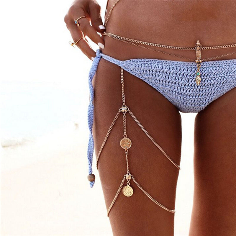 Hele Beach Body Chain Riviera Coco