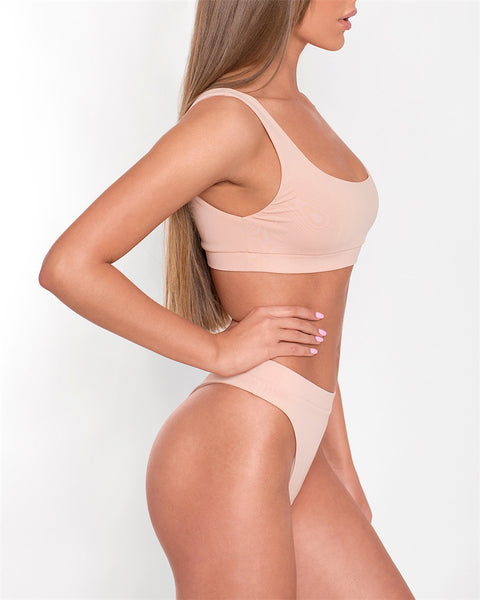 Kailua | Sporty High Waist Thong Bikini