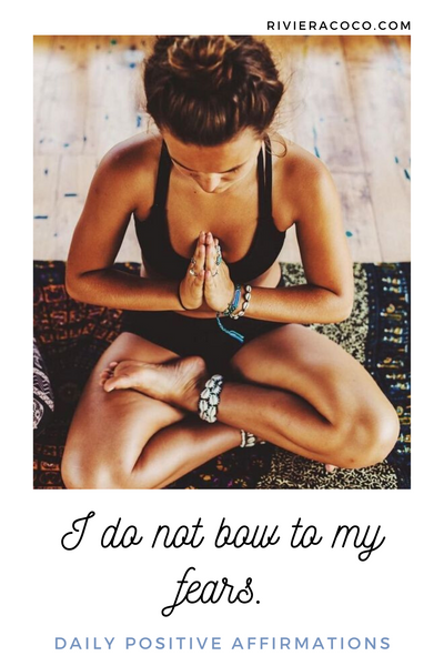 Yoga Quotes Affirmations Positive Life Riviera Coco