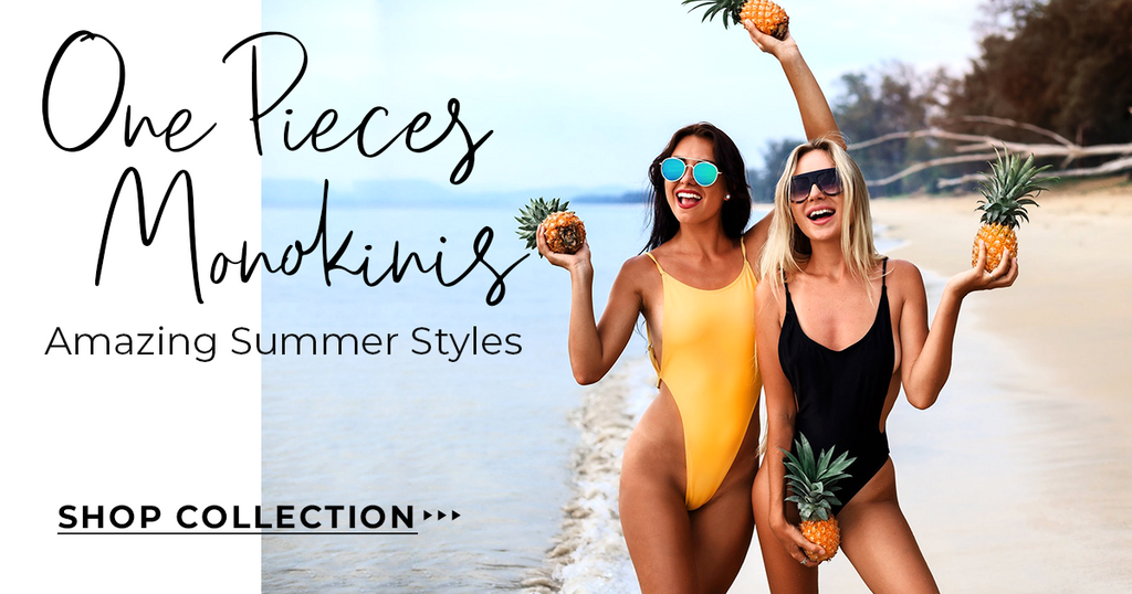 Monokini One Piece Collection Sale Promo Riviera Coco