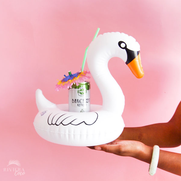 swan drink pool float riviera coco