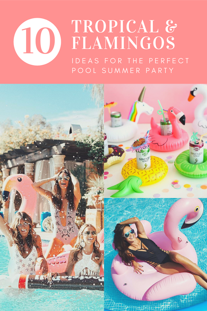 Pinterest Pin Flamingo Party Riviera Coco