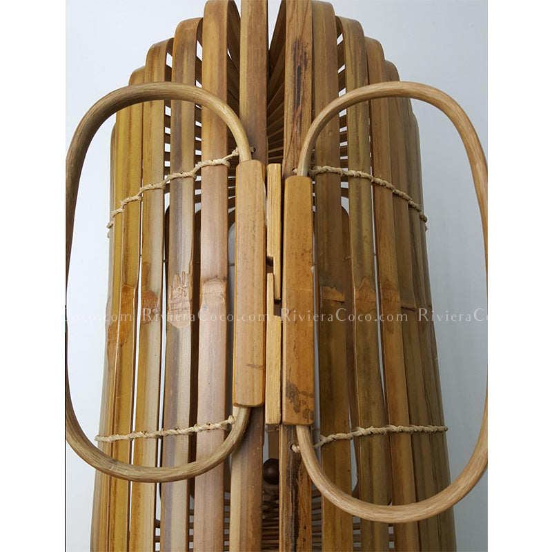 Foldable Bamboo Handbag