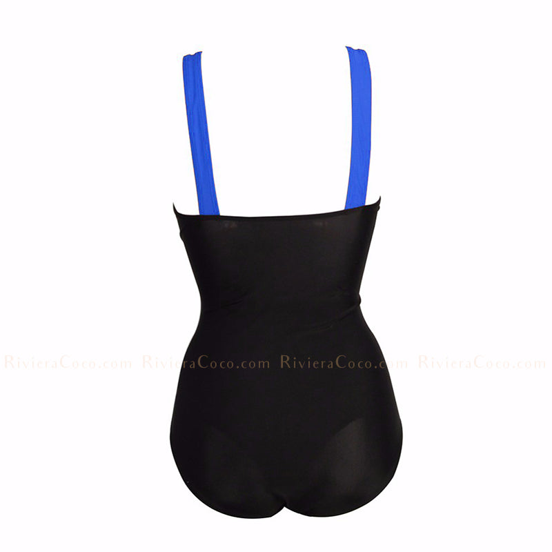 Coronado | Drapead Color Block One Piece