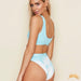 Easter Island | Sporty Tie Dye High Waist Bikini