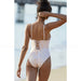 Eze | Yellow Stripes Lace Up One Piece