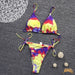 Hobie Beach | Triangle Tide Side Tie-Dye Bikini