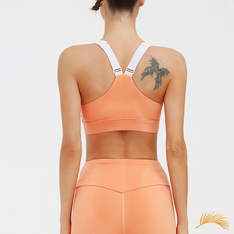 LILY | Hollow Ruched Sports Bra And Laser Cut Legging | 3 Colors