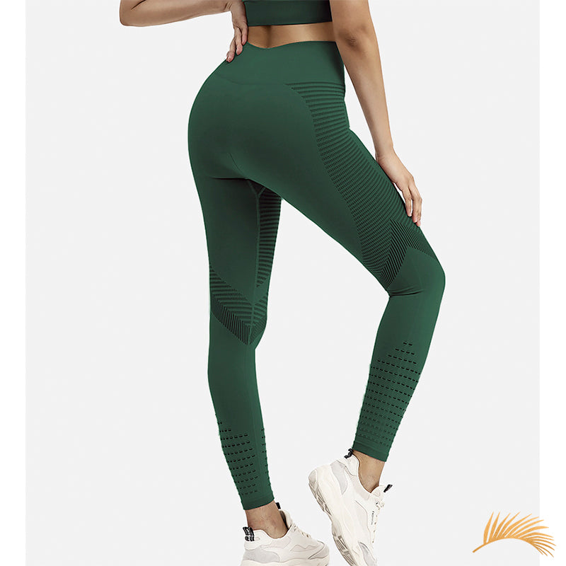 LEAH | Hallowed Wide Waistband Legging | 3 Colors