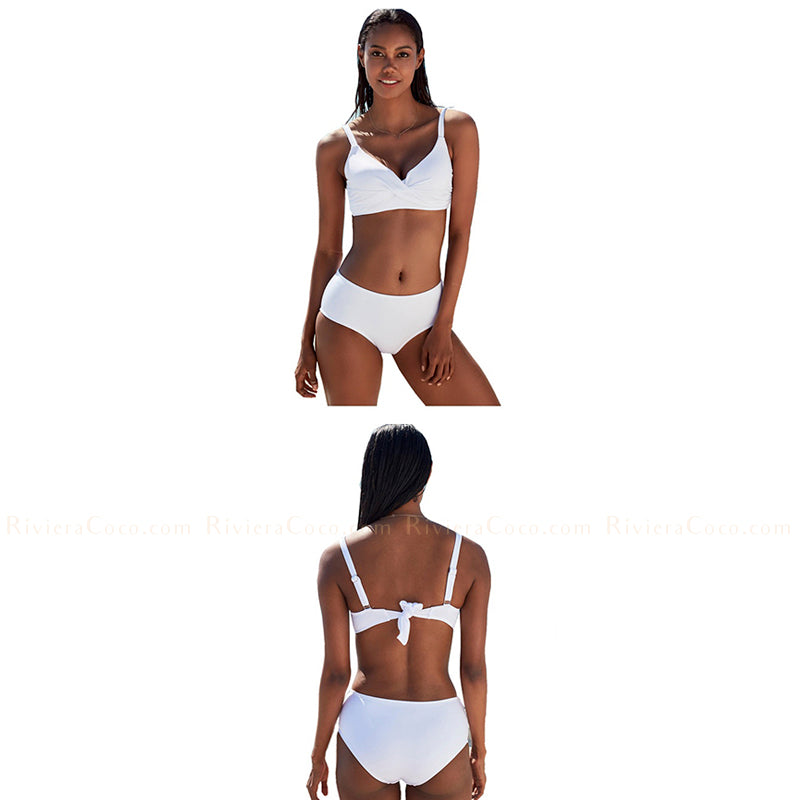Puerto Vallarta | Sporty Twisted Top  Bikini