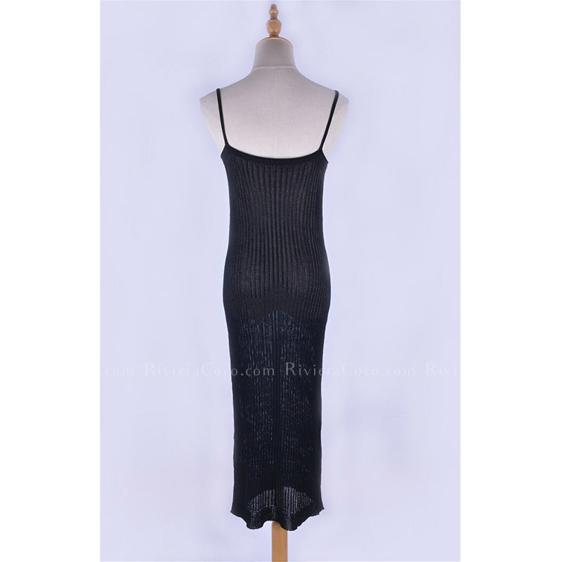 Ribbed Knitted Bodycon Dress