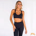 BELLE | Ruffed Top And Legging Sports Set | 2 colors