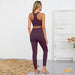AMELIA | Solid Color Racer Back Yoga Set | 7 Colors