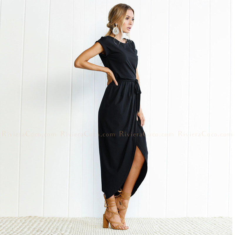 T-Shirt Crossed Dress