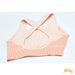 CHLOE | Texture Color Block Crisscross Back Sports Bra | 2 colors