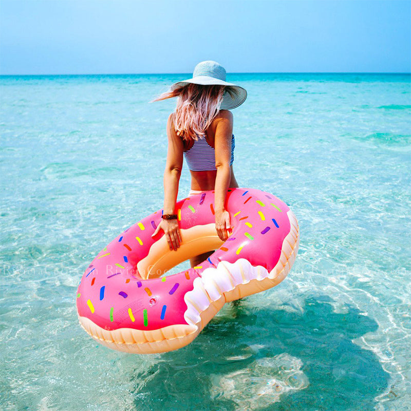 Trendy Floating Donuts Riviera Coco