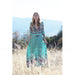 Turquoise Beach Maxi Dress