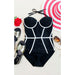 Sorrento | Strapless Classy Wired Push Up One Piece Swimsuit
