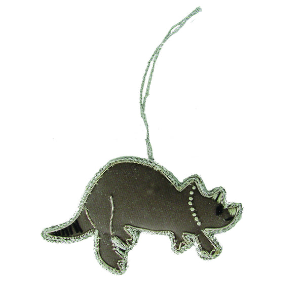Triceratops Holiday Ornament - WorldFinds (H)