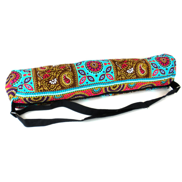 Turquoise Mathila Yoga Mat Bag - Global Groove (Y)