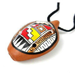 Mini Ocarina Traditional Necklace - Jamtown World Instruments