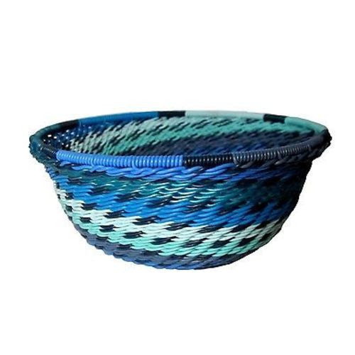 Handcrafted Recycled Telephone Wire Bowl - Oceanic Handmade and Fair Trade
