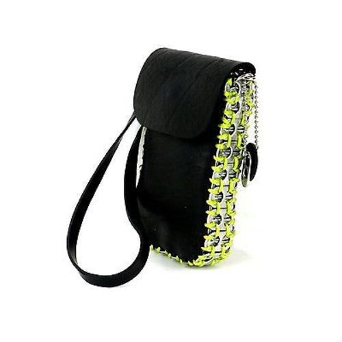 Tire and Poptop Smartphone Bag - Green Handmade and Fair Trade