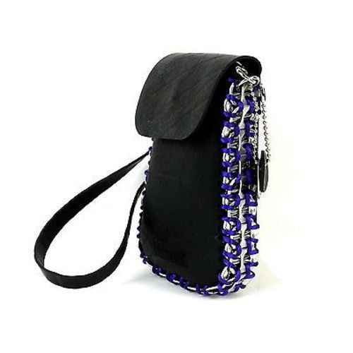 Tire and Poptop Smartphone Bag - Purple Handmade and Fair Trade