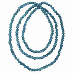 Acai Rope Necklace in Turquoise Handmade and Fair Trade